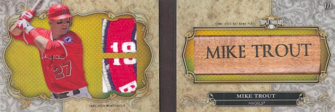 2013 Topps Triple Threads Baseball Drool Gallery and Hot List 9
