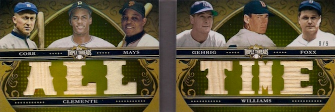 2013 Topps Triple Threads Baseball Drool Gallery and Hot List 11