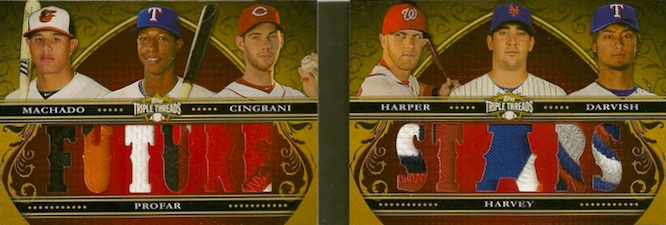 2013 Topps Triple Threads Baseball Drool Gallery and Hot List 10
