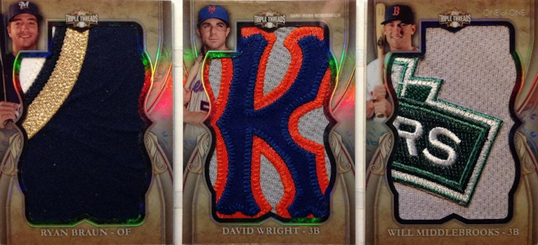 2013 Topps Triple Threads Baseball Drool Gallery and Hot List 13