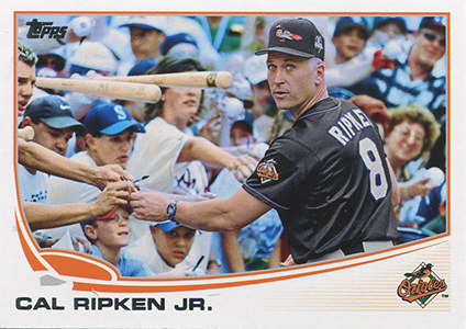 2013 Topps Update Series Variations US216 Cal Ripken Jr