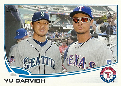 2013 Topps Update Series Baseball Variation Short Prints Guide 23