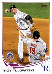 2013 Topps Update Series Baseball Variation Short Prints Guide 24
