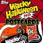 2013 Topps Wacky Packages Halloween Postcards