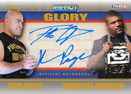 2013 Tristar TNA Impact Glory Wrestling Cards 21