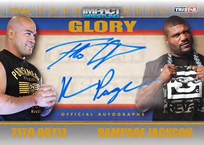 2013 Tristar TNA Impact Glory Wrestling Cards 24