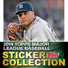 2014 Topps MLB Sticker Collection