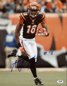 AJ Green Signed Photo