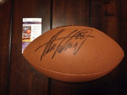 Adrian Peterson Signed Football