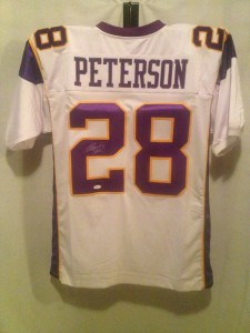 Adrian Peterson Signed Jersey