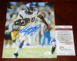 Adrian Peterson Signed Photo