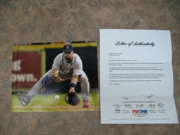 Albert Pujols Signed Photo and LOA