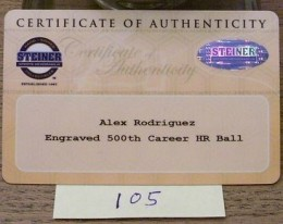 Alex Rodriguez Cards and Memorabilia Guide 31