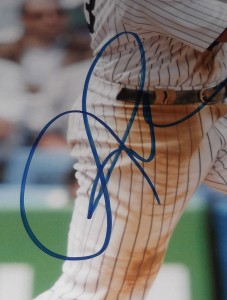 Alex Rodriguez Signed Photo Close