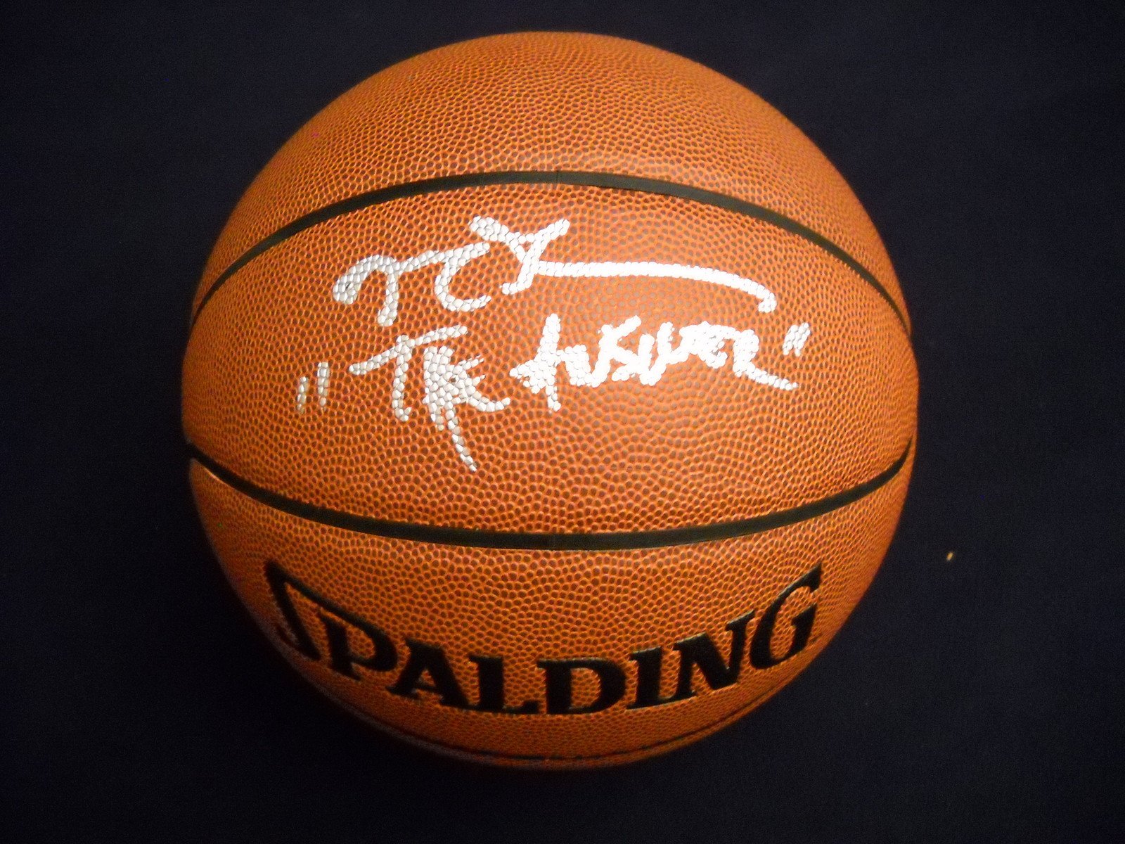 8f14300e84c Active Listings for Allen Iverson Signed Basketballs