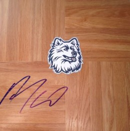 Andre Drummond Signed Floorboard