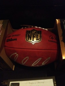 Andrew Luck Signed Football NFL