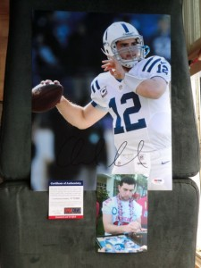 Andrew Luck Signed Photo