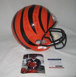 Andy Dalton Signed Helmet