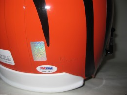 Andy Dalton Signed Helmet Sticker