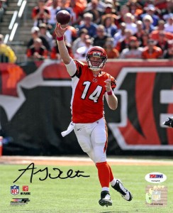 Andy Dalton Signed Photo