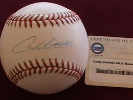 Andy Pettitte Baseball Cards and Autograph Memorabilia Guide 27