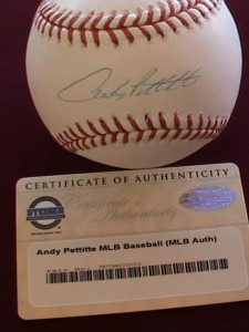 Andy Pettitte Baseball Cards and Autograph Memorabilia Guide 29