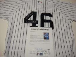 Andy Pettitte Signed Jersey 260x195 Image