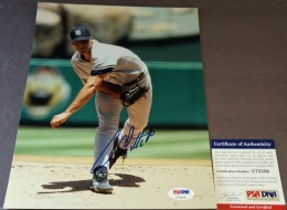 Andy Pettitte Signed Photo 260x190 Image