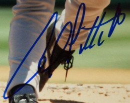 Andy Pettitte Signed Photo Closeup 260x207 Image