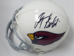 Anquan Boldin Signed Helmet