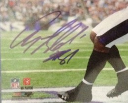 Anquan Bolding Signed Photo close
