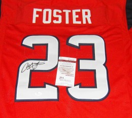 Arian Foster Signed Jersey