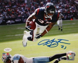 Arian Foster Cards and Autograph Memorabilia Guide 55