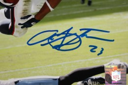 Arian Foster Signed Photo Close