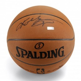 Kobe Bryant Signed Basketball