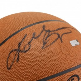 Kobe Bryant Signed Basketball Close-up
