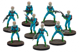 Mars Attacks Miniatures The Game Martians