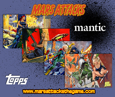 Mars Attacks Tabletop Game Launches on Kickstarter, Fully Funded Within 15 Minutes 2