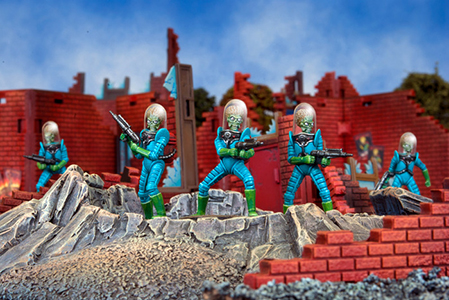 Mars Attacks Miniatures The Game