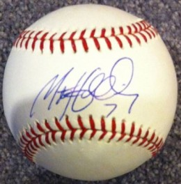 Matt Holiday Signed Ball