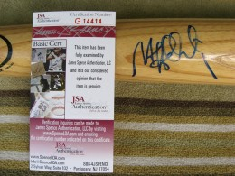 Matt Holliday Signed Bat 2