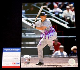 Matt Holliday Signed Photo