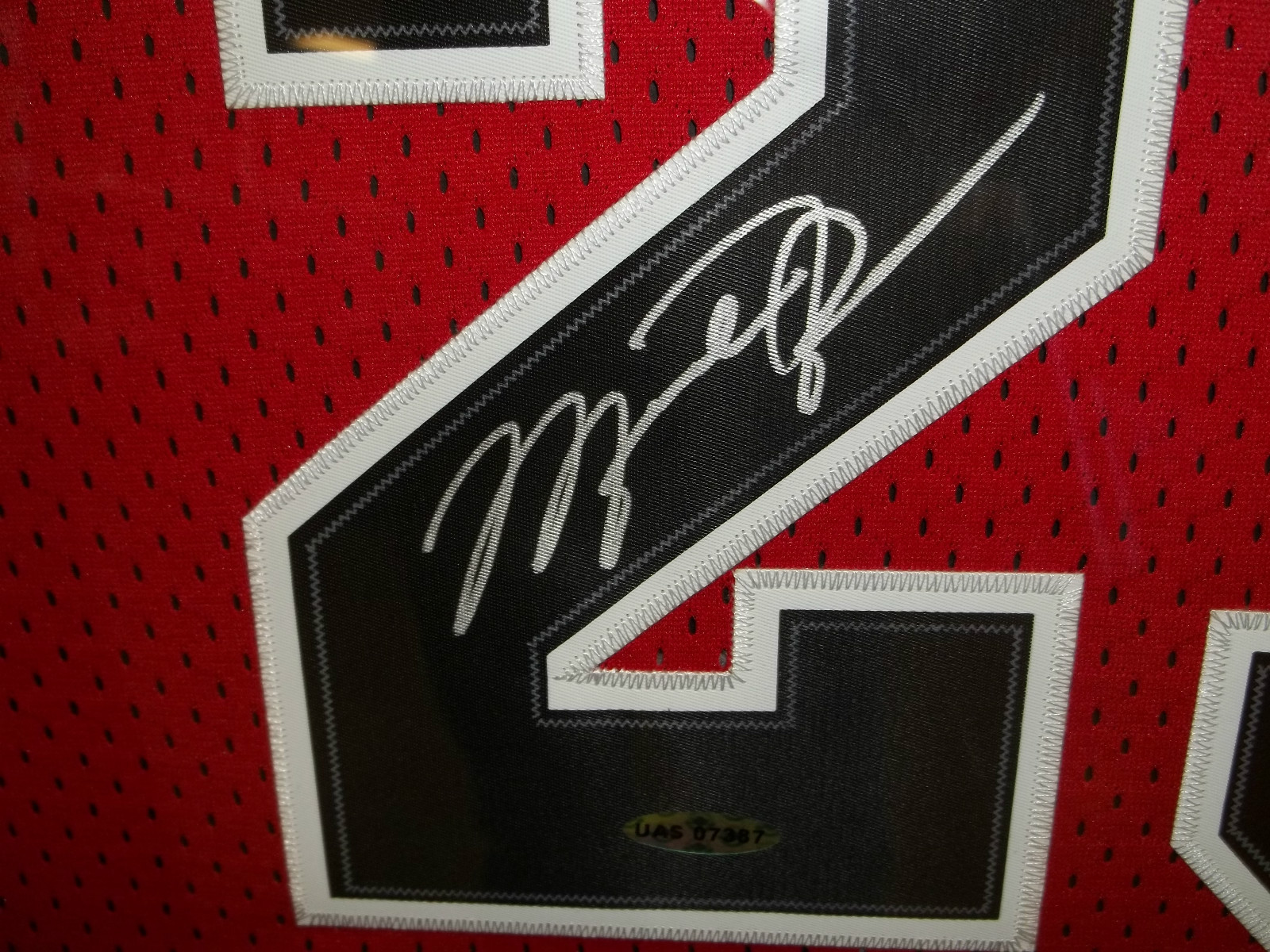 3474291b9 Signed Jersey Pricing  Active Listings for Michael Jordan Signed Jerseys