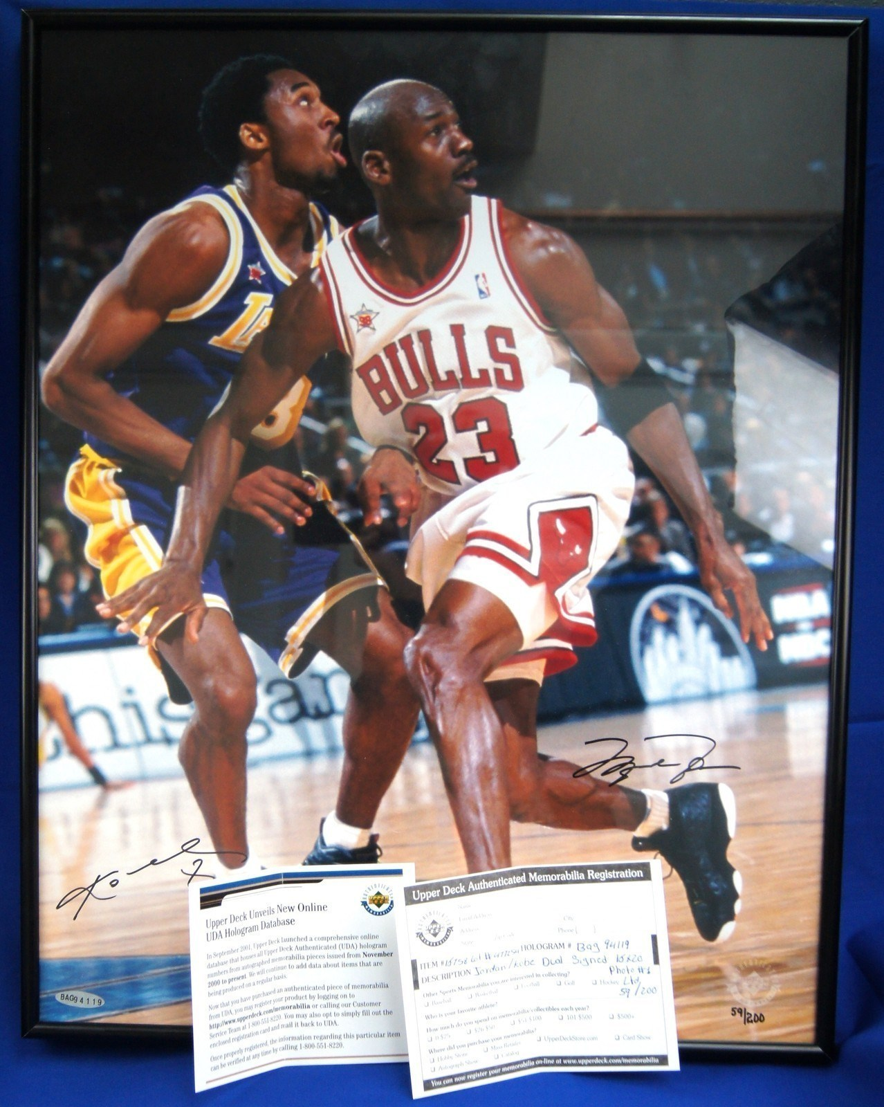 online store 319de 379c7 Signed Shoe Pricing  Active Listings for Michael Jordan Signed Sneakers