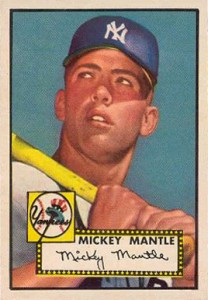 Mickey Mantle 1952 Topps
