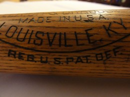 Mickey Mantle HB Louisville Slugger Bat