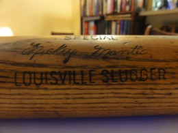 Mickey Mantle HB Lousiville Slugger Bat