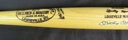 Mickey Mantle Signed Bat Mantle Model
