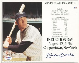 Mickey Mantle Rookie Cards and Memorabilia Buying Guide 28